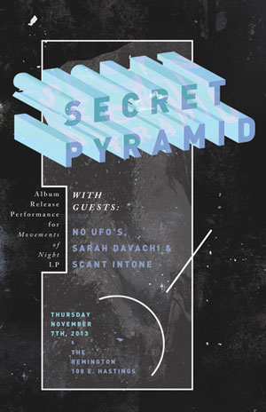 Secret Pyramid Lp release